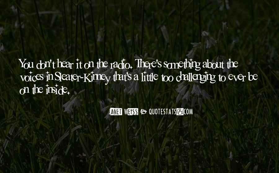 Little Voices Quotes #1834278