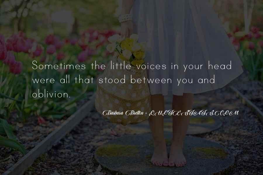 Little Voices Quotes #823728