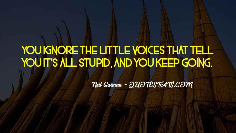 Little Voices Quotes #914907
