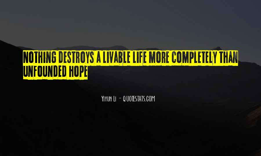 Livable Quotes #1217618