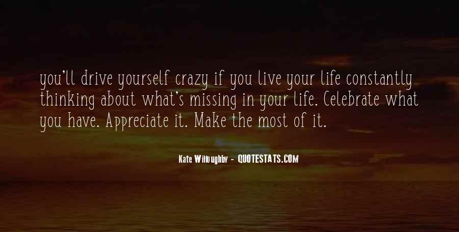 Live A Crazy Life Quotes #996307