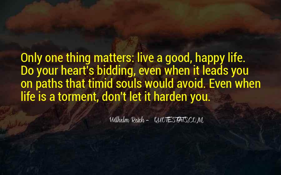 Live A Life That Matters Quotes #1181828