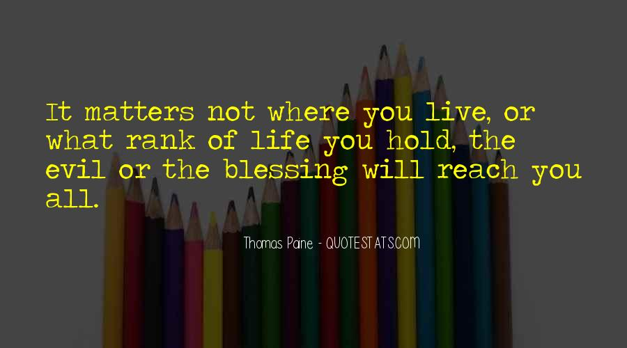 Live A Life That Matters Quotes #443240