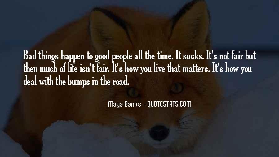 Live A Life That Matters Quotes #70125