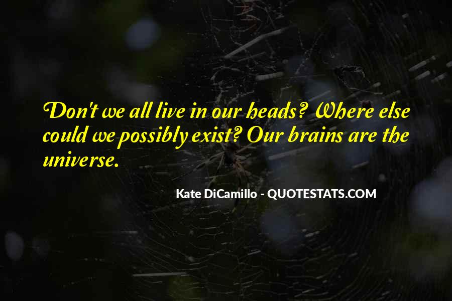 Live Don't Exist Quotes #1354618