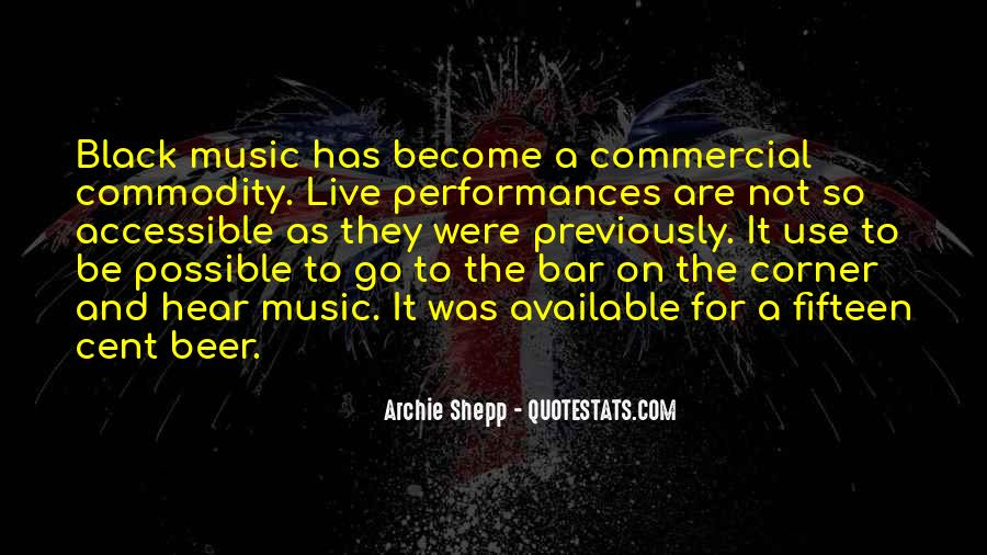 Live For Music Quotes #1041472