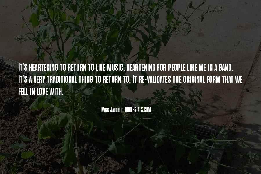 Live For Music Quotes #1081141