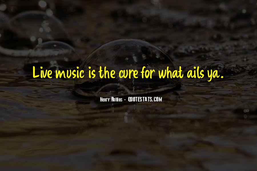 Live For Music Quotes #1122540