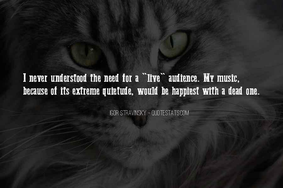 Live For Music Quotes #1460593