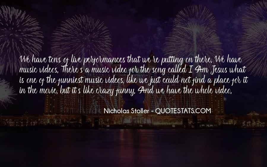 Live For Music Quotes #1461873