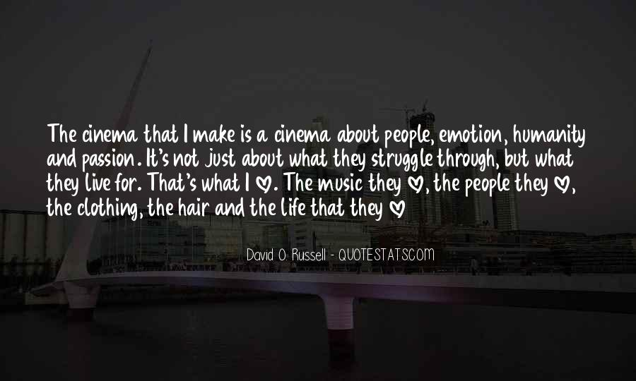 Live For Music Quotes #1616745