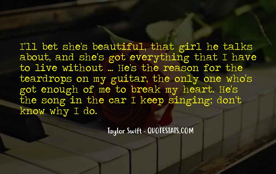 Live For Music Quotes #224518