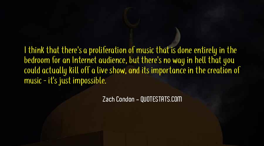 Live For Music Quotes #365286
