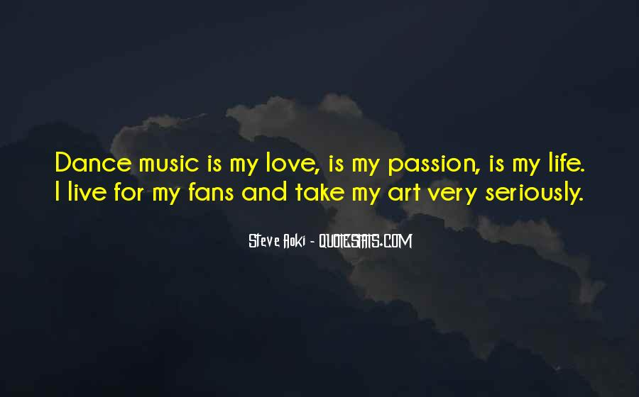 Live For Music Quotes #395140