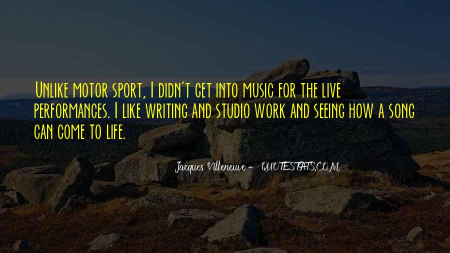 Live For Music Quotes #46244