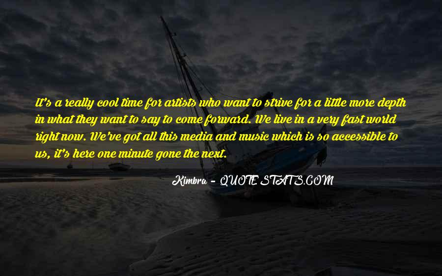 Live For Music Quotes #482194