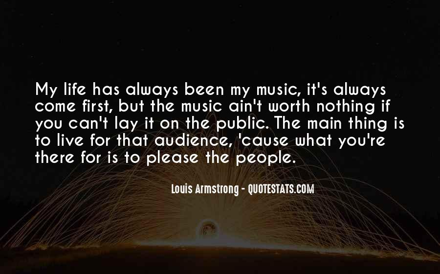 Live For Music Quotes #737651