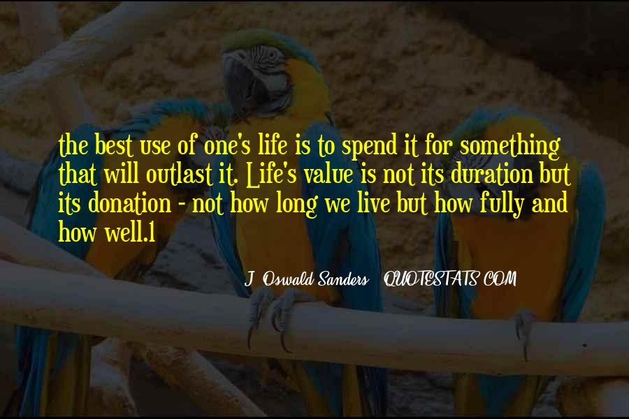 Live Life Best Quotes #162043