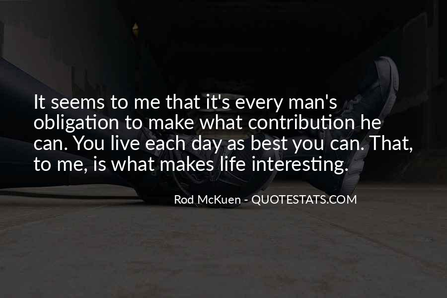 Live Life Best Quotes #164950