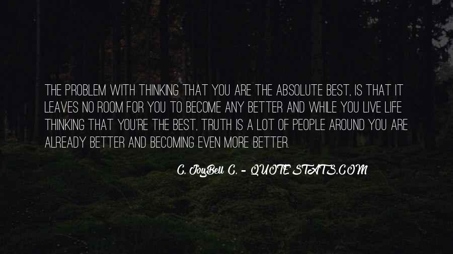Live Life Best Quotes #181048