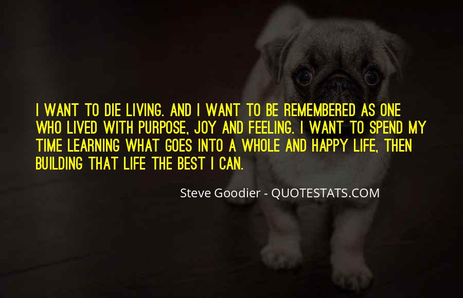 Live Life Best Quotes #315273
