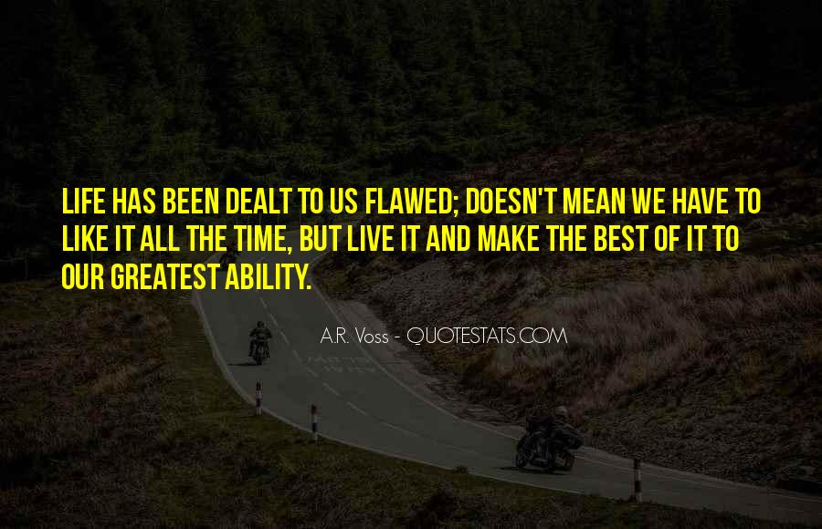 Live Life Best Quotes #448845