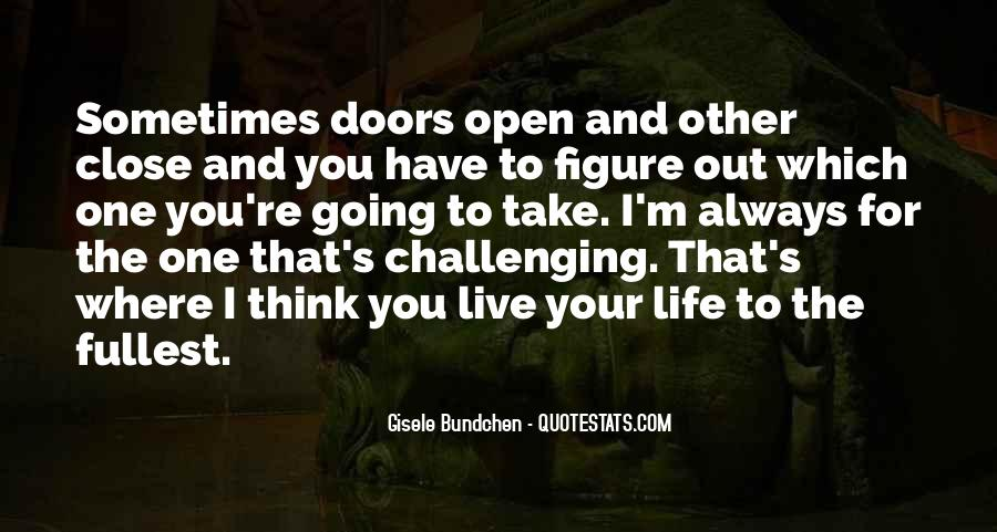 Live Life To Fullest Quotes #65480