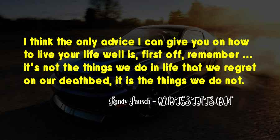 Live Life Well Quotes #154330