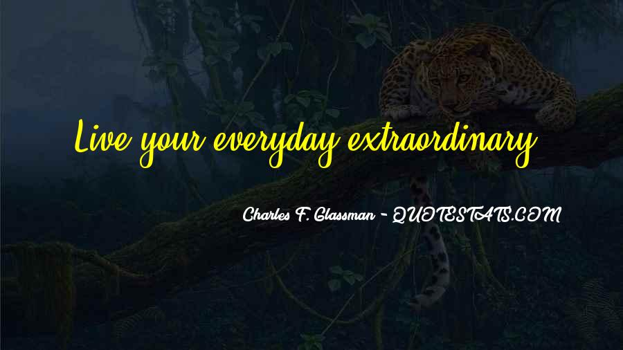 Live Life With Intention Quotes #1107708