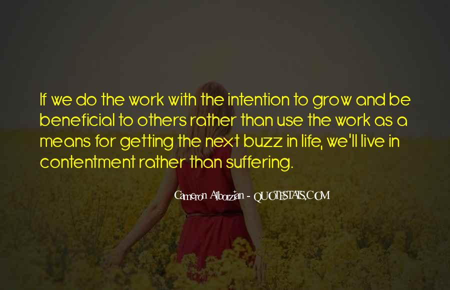 Live Life With Intention Quotes #177726