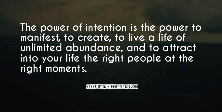 Live Life With Intention Quotes #892247