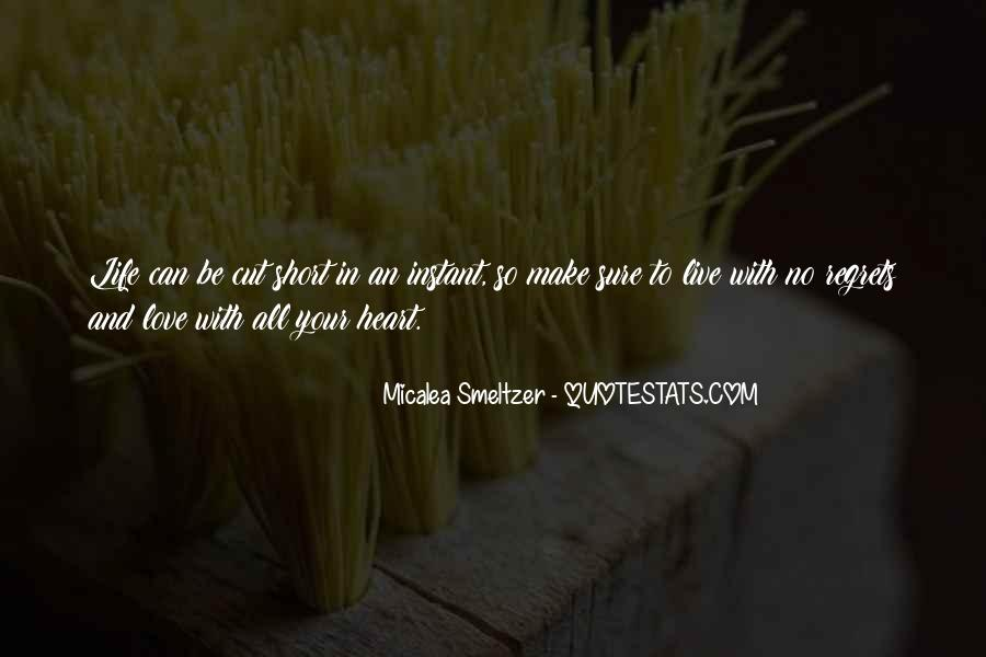Live Life With Love Quotes #102750