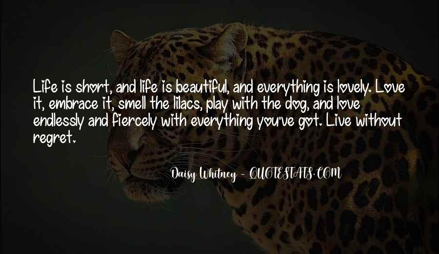 Live Life With Love Quotes #189954