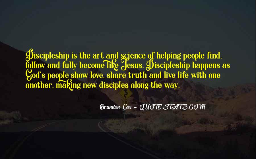 Live Life With Love Quotes #475665
