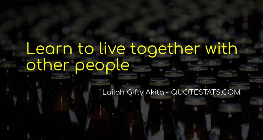 Live Life With Love Quotes #621809