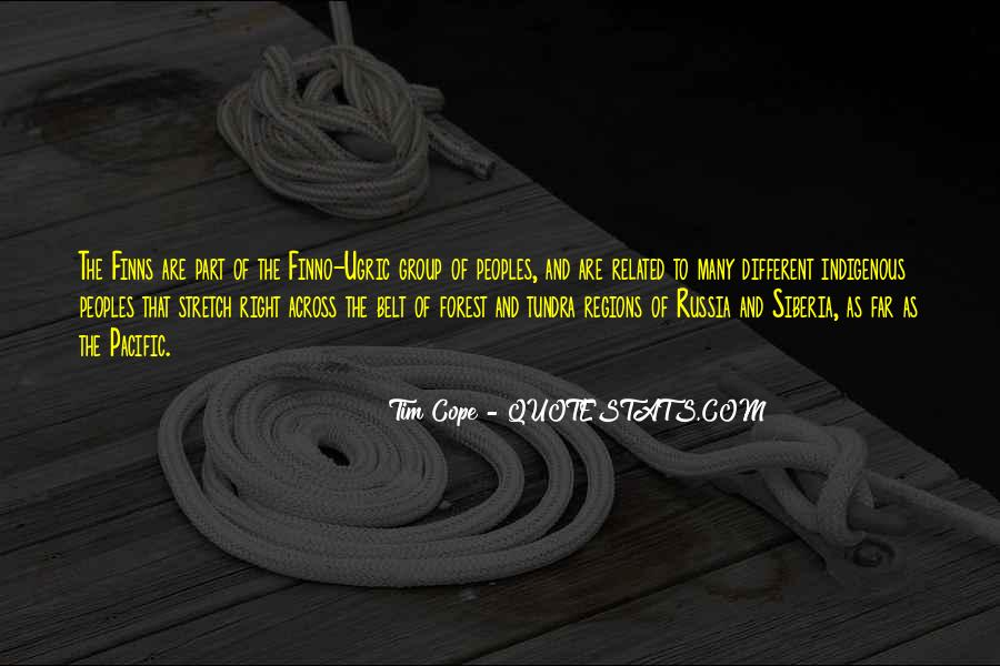 Quotes About Different Peoples #1065049