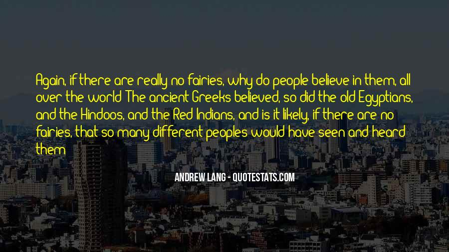Quotes About Different Peoples #1126965