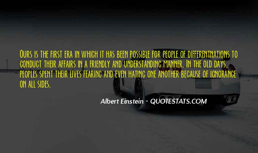 Quotes About Different Peoples #1704847