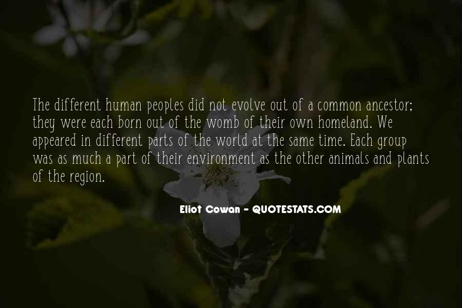Quotes About Different Peoples #1857404