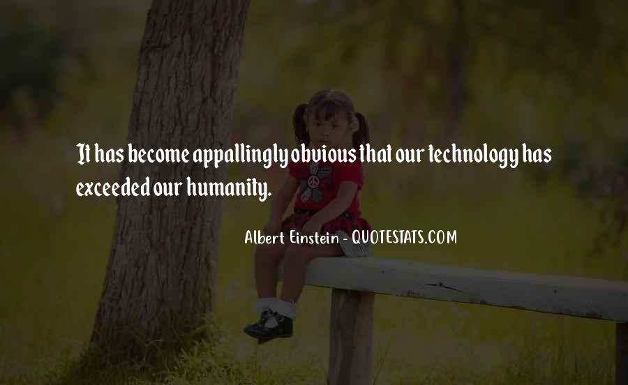 Quotes About Technology Albert #1611756