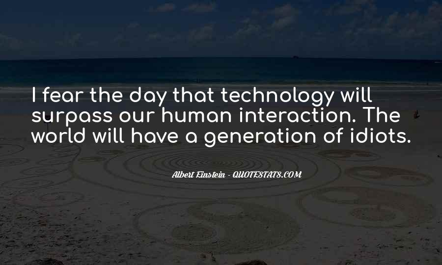 Quotes About Technology Albert #1719784