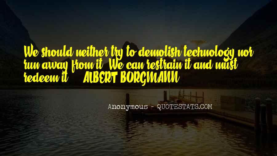 Quotes About Technology Albert #378795