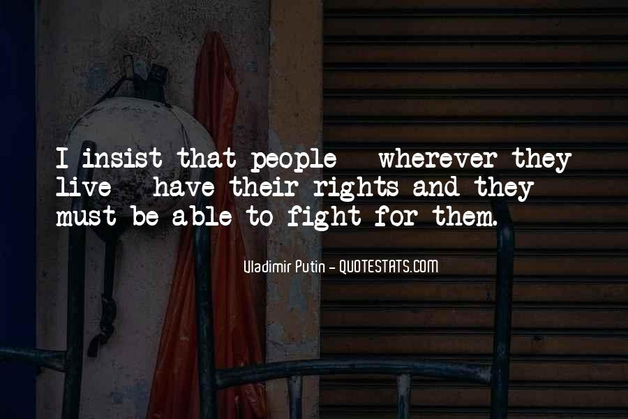 Live To Fight Quotes #23146