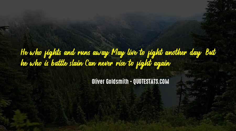 Live To Fight Quotes #430755