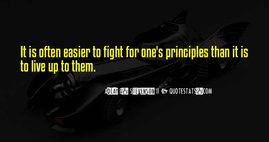 Live To Fight Quotes #72511