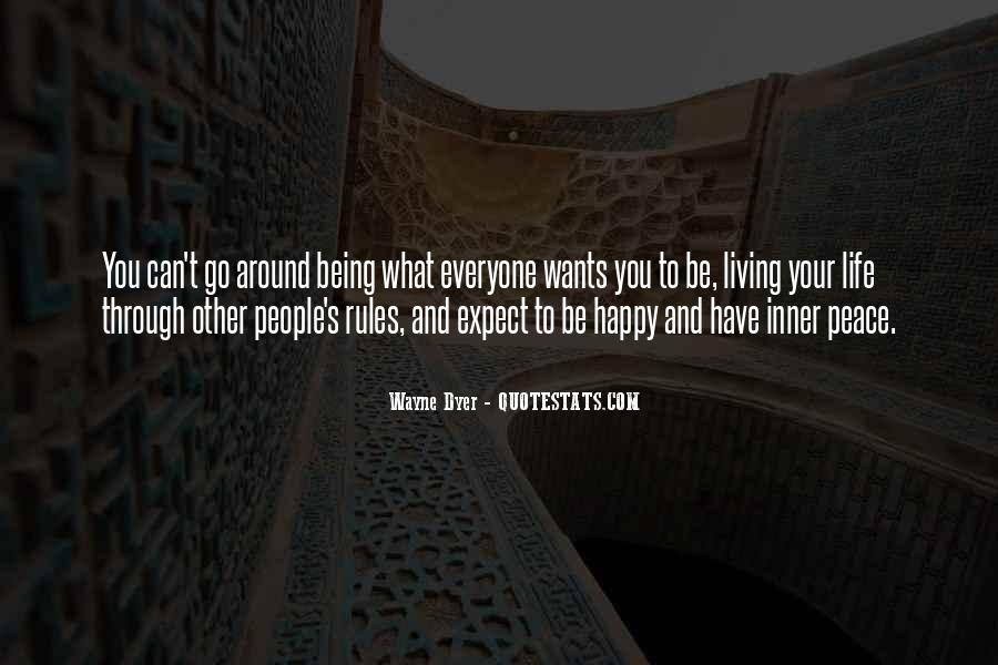 Live Your Life Happy Quotes #1115480