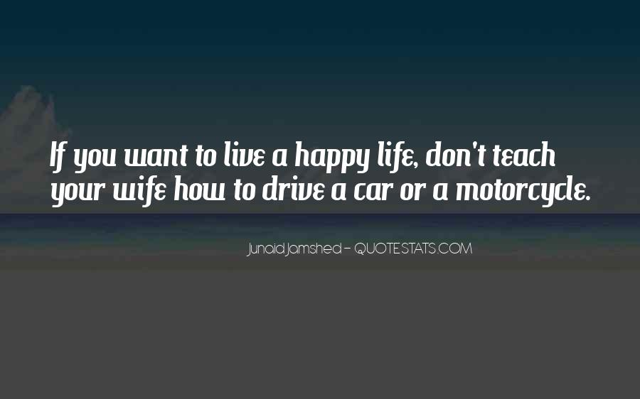 Live Your Life Happy Quotes #1634334