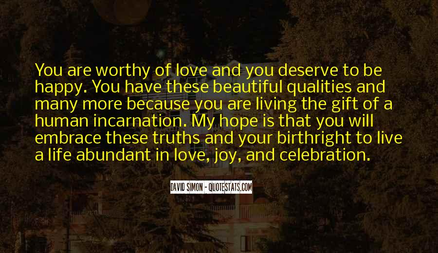 Live Your Life Happy Quotes #237921