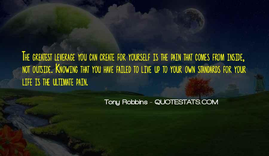 Live Your Own Life Quotes #346861