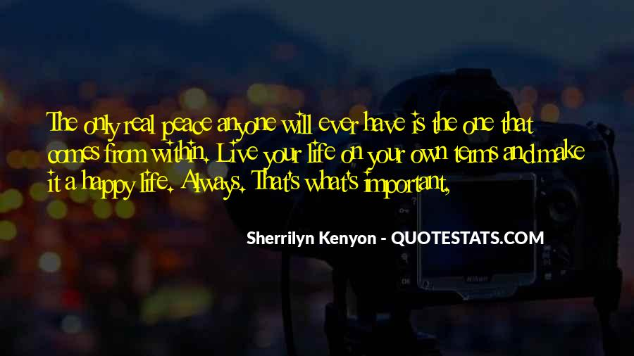 Live Your Own Life Quotes #603201
